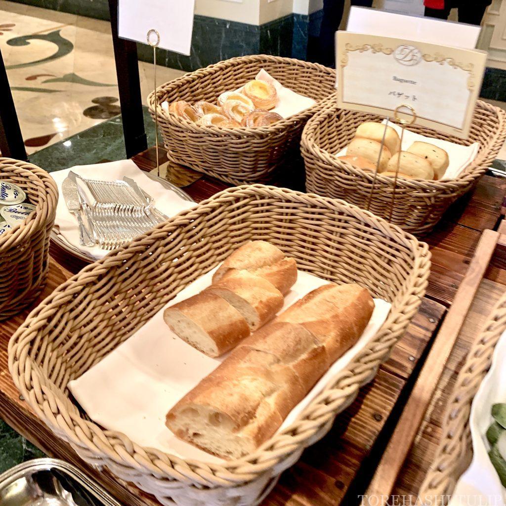 ディズニーランドホテル シャーウッドガーデンレストラン イースター ランチブッフェ 2021春 メニュー 料金 営業時間 パン