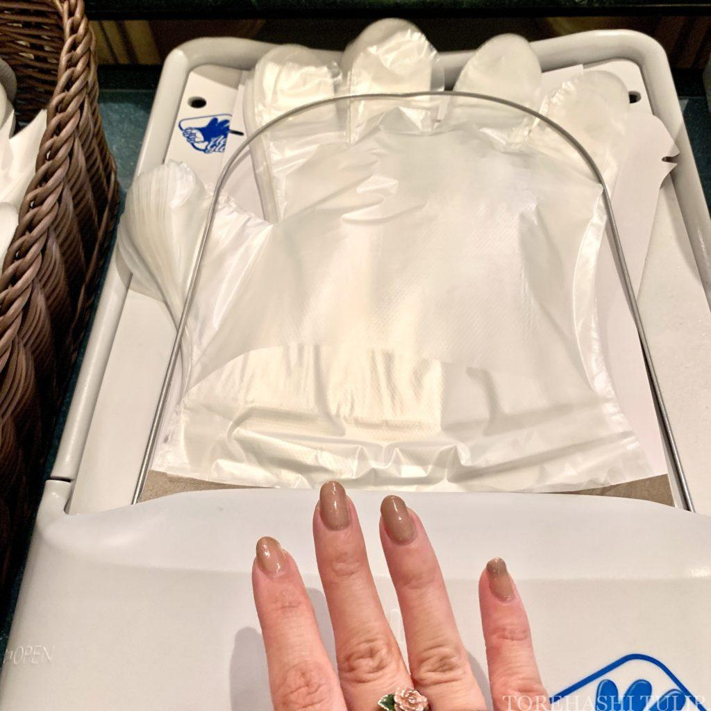 ディズニーランドホテル シャーウッドガーデンレストラン イースター ランチブッフェ 2021春 メニュー 料金 営業時間 レビュー 感染症対策 ビニール手袋