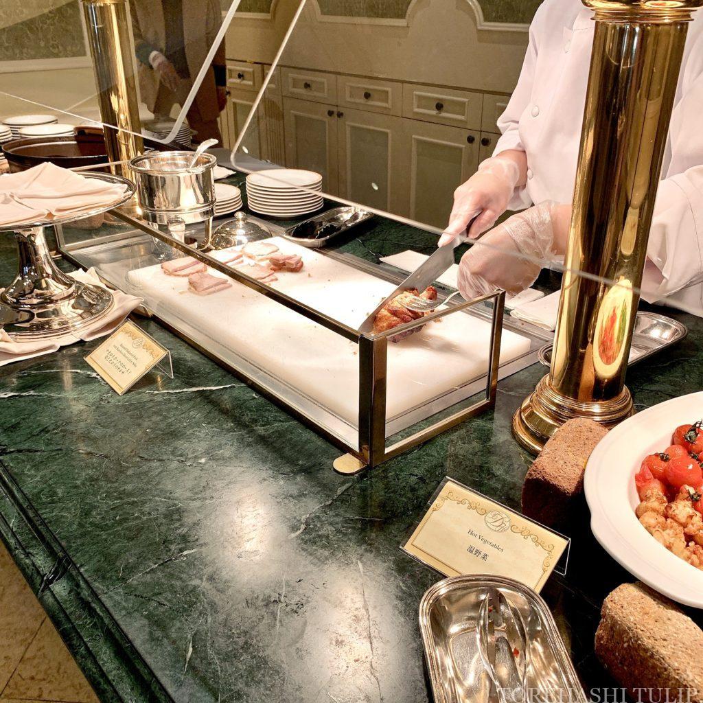 ディズニーランドホテル シャーウッドガーデンレストラン イースター ランチブッフェ 2021春 メニュー 料金 営業時間 メイン 洋食 中華 お子様にも