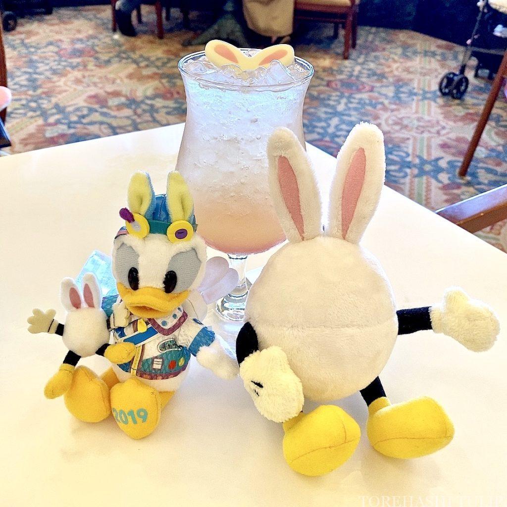 ディズニーランドホテル シャーウッドガーデンレストラン イースター ランチブッフェ 2021春 メニュー 料金 営業時間 スペシャルドリンク パステルバニー
