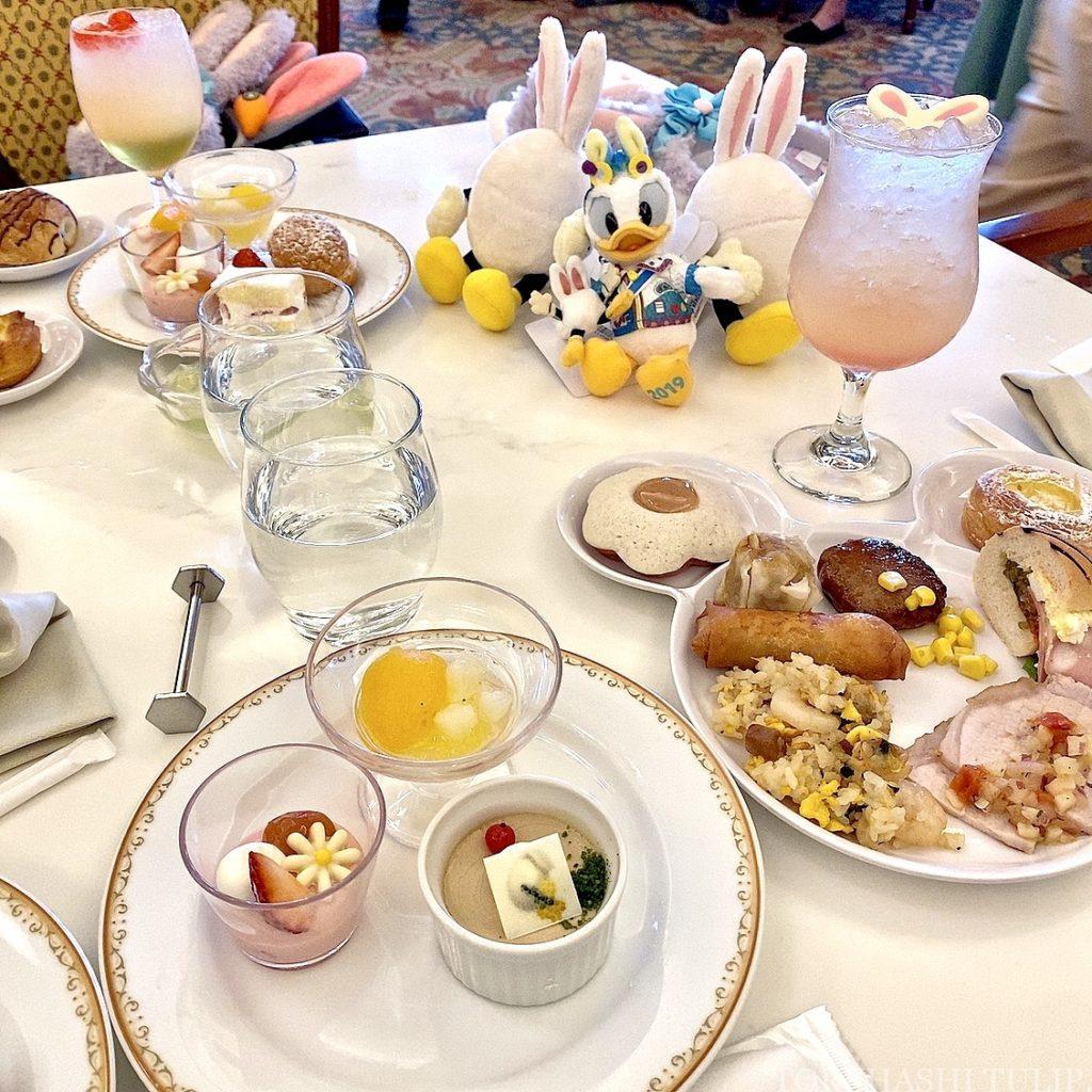 ディズニーランドホテル シャーウッドガーデンレストラン イースター ランチブッフェ 2021春 メニュー 料金 営業時間
