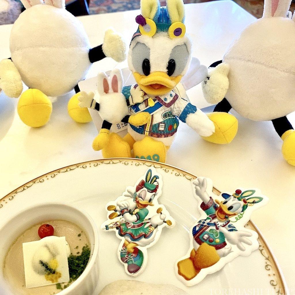 ディズニーランドホテル シャーウッドガーデンレストラン イースター ランチブッフェ 2021春 メニュー 料金 営業時間 デザート ケーキ アイス