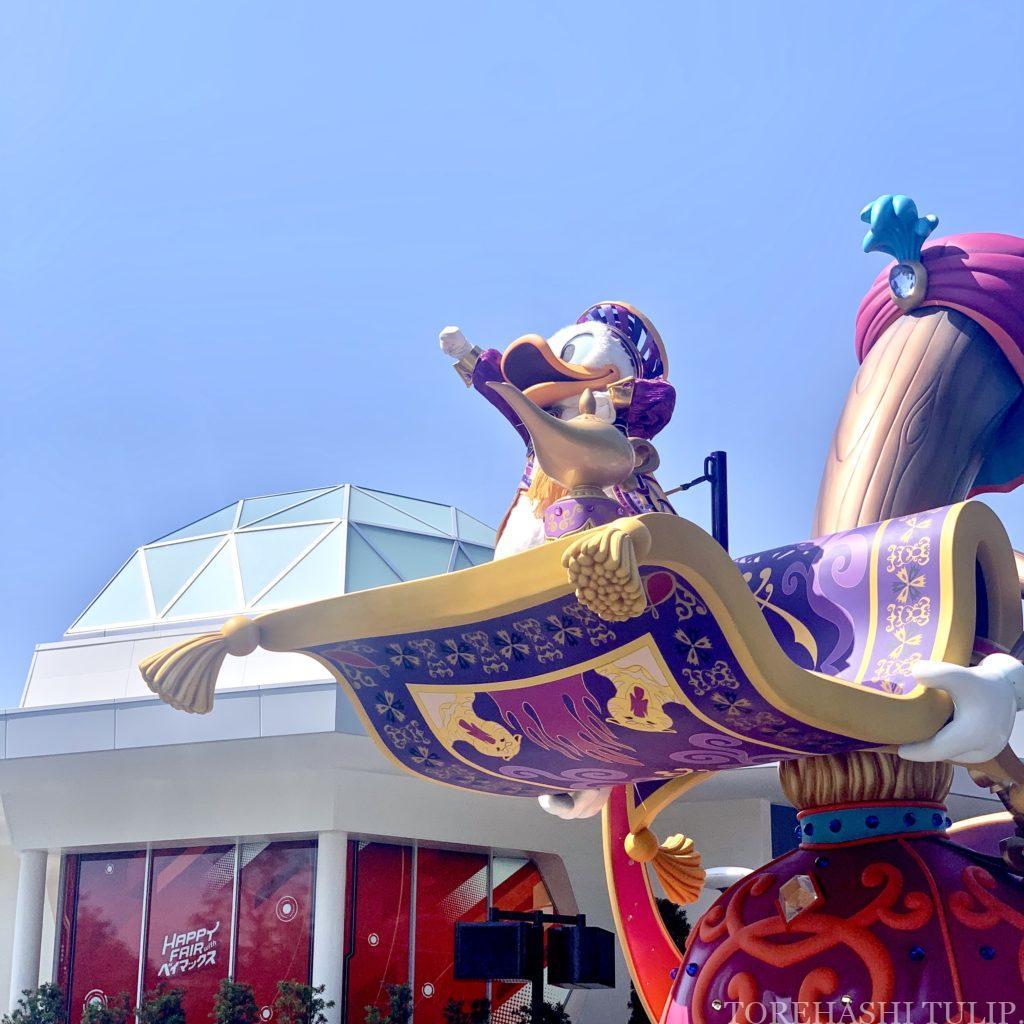 ディズニーランド 2万人 アトラクション抽選 混雑具合 ショーパレ再開 ドリーミングアップ ダンサーなし キャラクターカット ニューフェイス 時間
