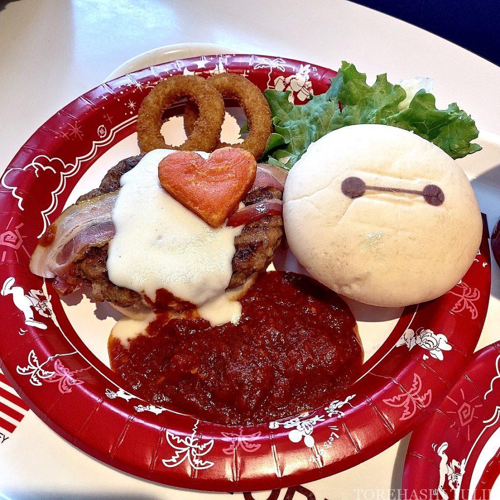 ベイマックス スペシャルメニュー フード ハッピーフェア・ウィズ・ベイマックス インスタ映え メニュー 値段 ベイマックスセット ハンバーガー