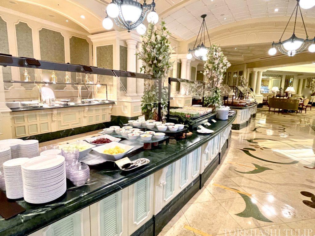 ディズニーランドホテル シャーウッドガーデン・レストラン 七夕 ランチブッフェ 2021年 メニュー 事前予約 土日