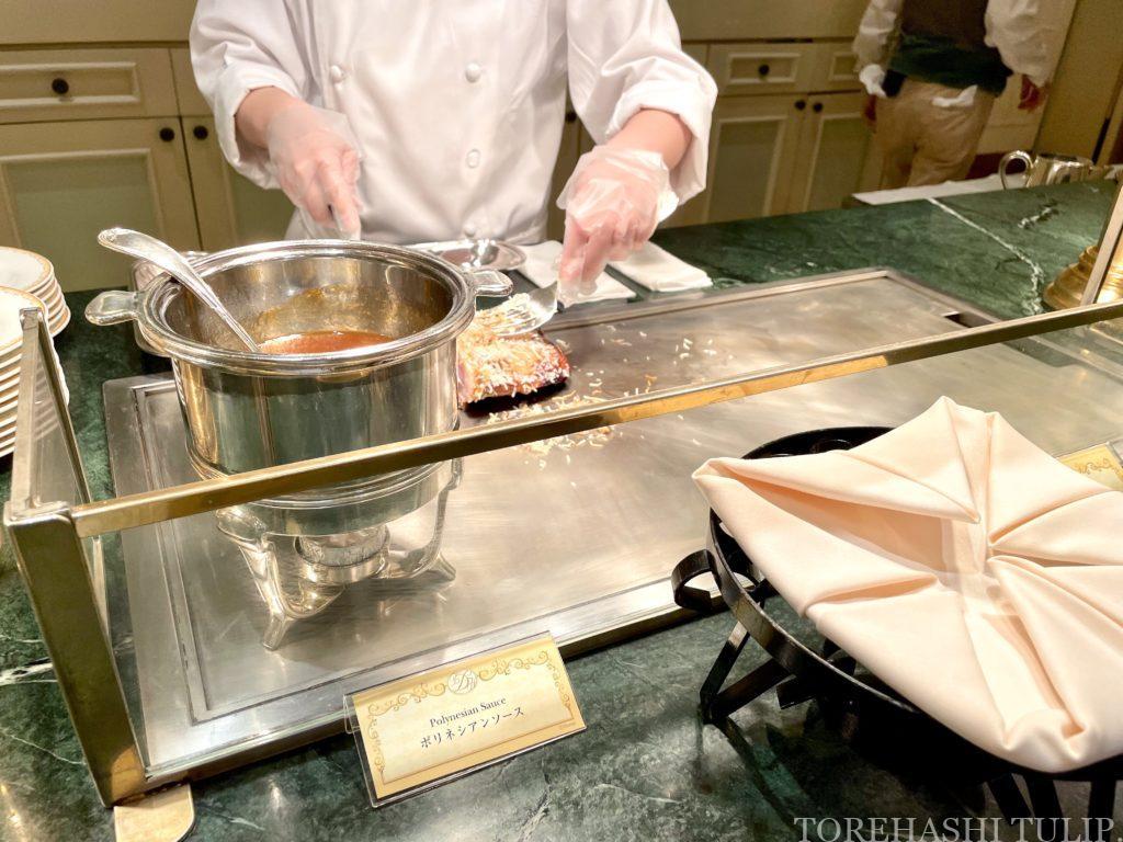 ディズニーランドホテル シャーウッドガーデン・レストラン 七夕 ランチブッフェ 2021年 メニュー メイン料理 洋食 中華