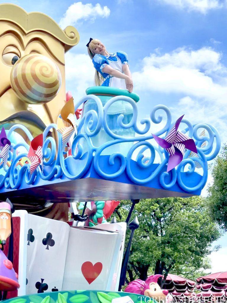 ディズニー ディズニーランド 5,000人 6月 時短営業 アトラクション待ち時間 混雑状況 レストラン ショーパレ 空いている 雨予報 平日 パレード ドリーミングアップ
