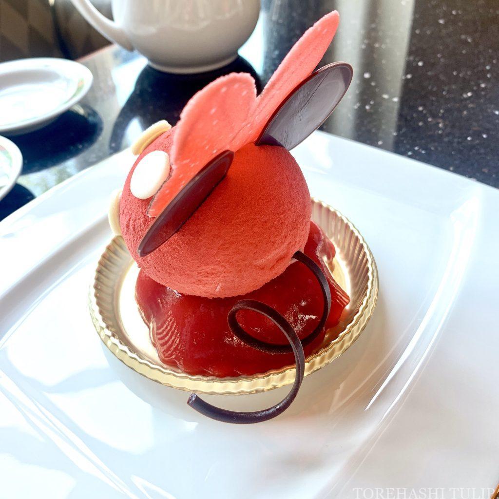 ディズニーアンバサダーホテル ハイピリオンラウンジ ケーキセット 2021年夏 ドナルドダック メニュー ブログ 事前予約 ブログ 予約なし スペシャルケーキセット ミニー