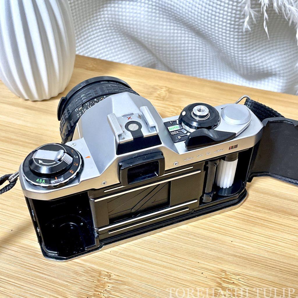 フィルムカメラ 愛用 おすすめ 初心者 購入方法 現像方法 費用 フィルム一眼 ハーフフィルムカメラ 電池式フィルムカメラ インスタ映え ASAHI PENTAX ME