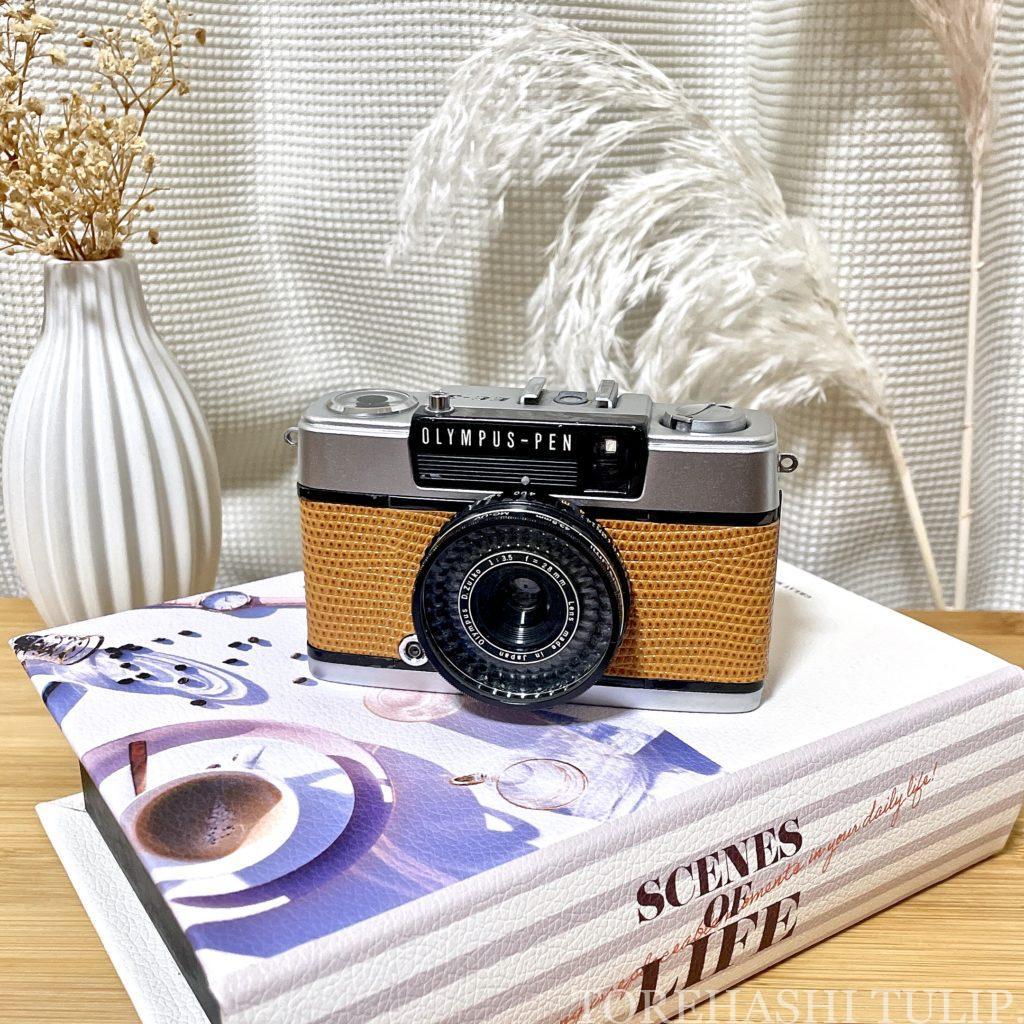 フィルムカメラ 愛用 おすすめ 初心者 購入方法 現像方法 費用 フィルム一眼 ハーフフィルムカメラ 電池式フィルムカメラ インスタ映え OLYMPUS-PEN EE-3