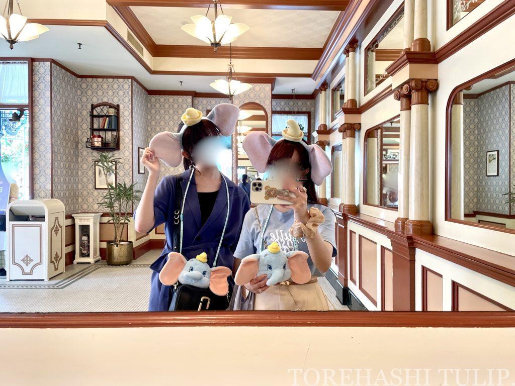 ディズニーランド グレートアメリカン・ワッフルカンパニー 再開 ミッキーワッフル メニュー 予約方法 当日予約 店内の様子 混雑状況 席数