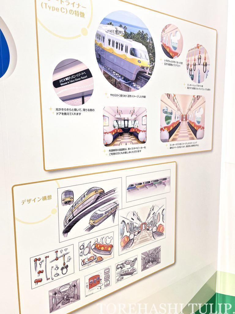 ディズニー リゾートライン 開業20周年 数量限定 フリーきっぷ スーベニアメダル 場所 記念展示 一周 新型車両 違い