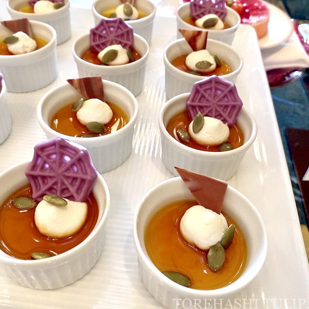 ディズニーランドホテル シャーウッドガーデン・レストラン ハロウィン ランチブッフェ 2021年 秋 メニュー 時間制限なし ブログ デザート ケーキ スイーツ アイス