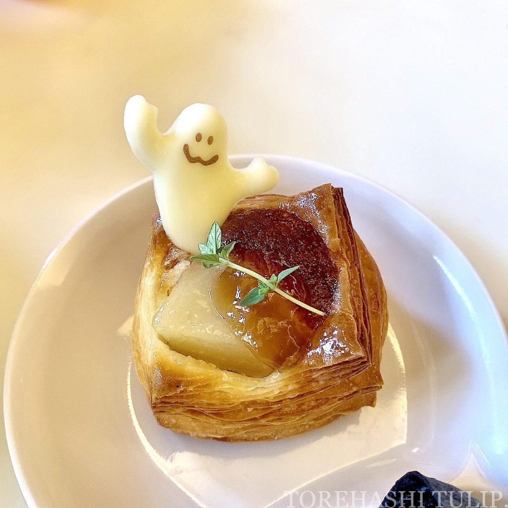 ディズニーランドホテル シャーウッドガーデン・レストラン ハロウィン ランチブッフェ 2021年 秋 メニュー 時間制限なし ブログ パンメニュー 栗 洋梨