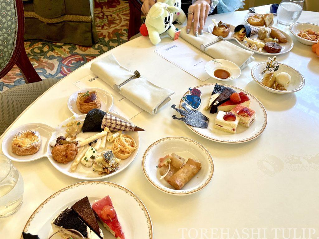ディズニーランドホテル シャーウッドガーデン・レストラン ハロウィン ランチブッフェ 2021年 秋 メニュー 時間制限なし ブログ