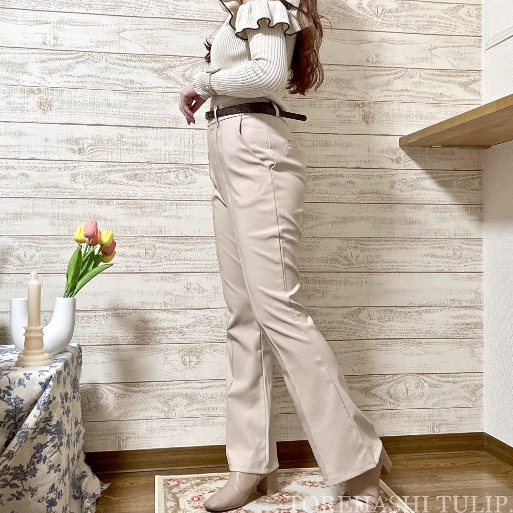 GRL グレイル 通販サイト プチプラ 高見え 2021AW 秋冬 購入品紹介 トレンド 着回しコーデ ブーツ ニット レザースカート セットアップ 大人コーデ パンツスタイル